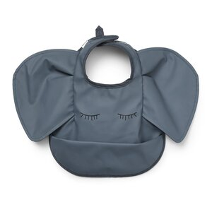 Elodie Details Baby Bib  Humble Hugo One Size Dusty Blue - Elodie Details
